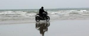 muzhapillangad drive in beach - travelers diary