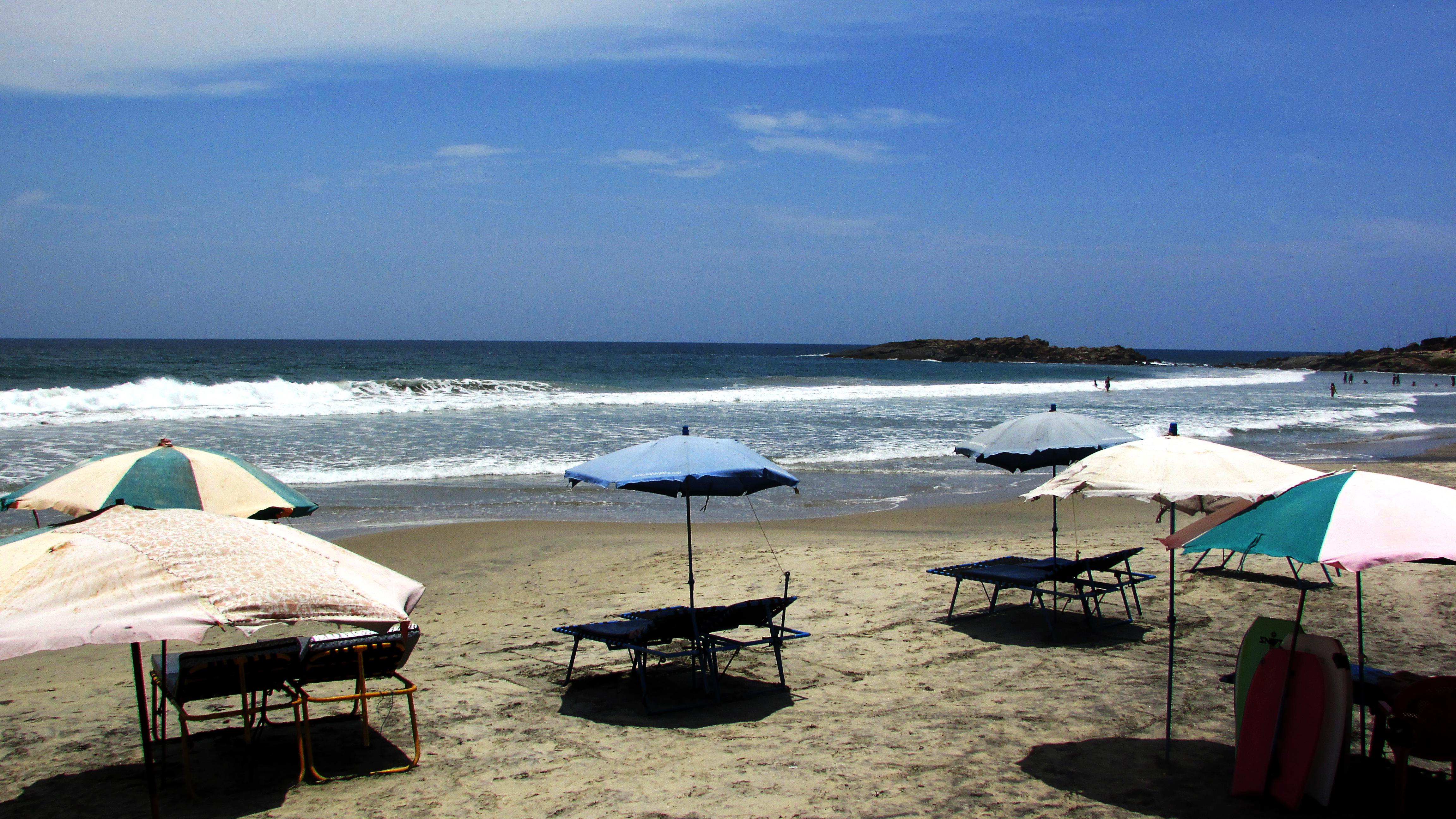 Kovalam beach in kerala  (1)