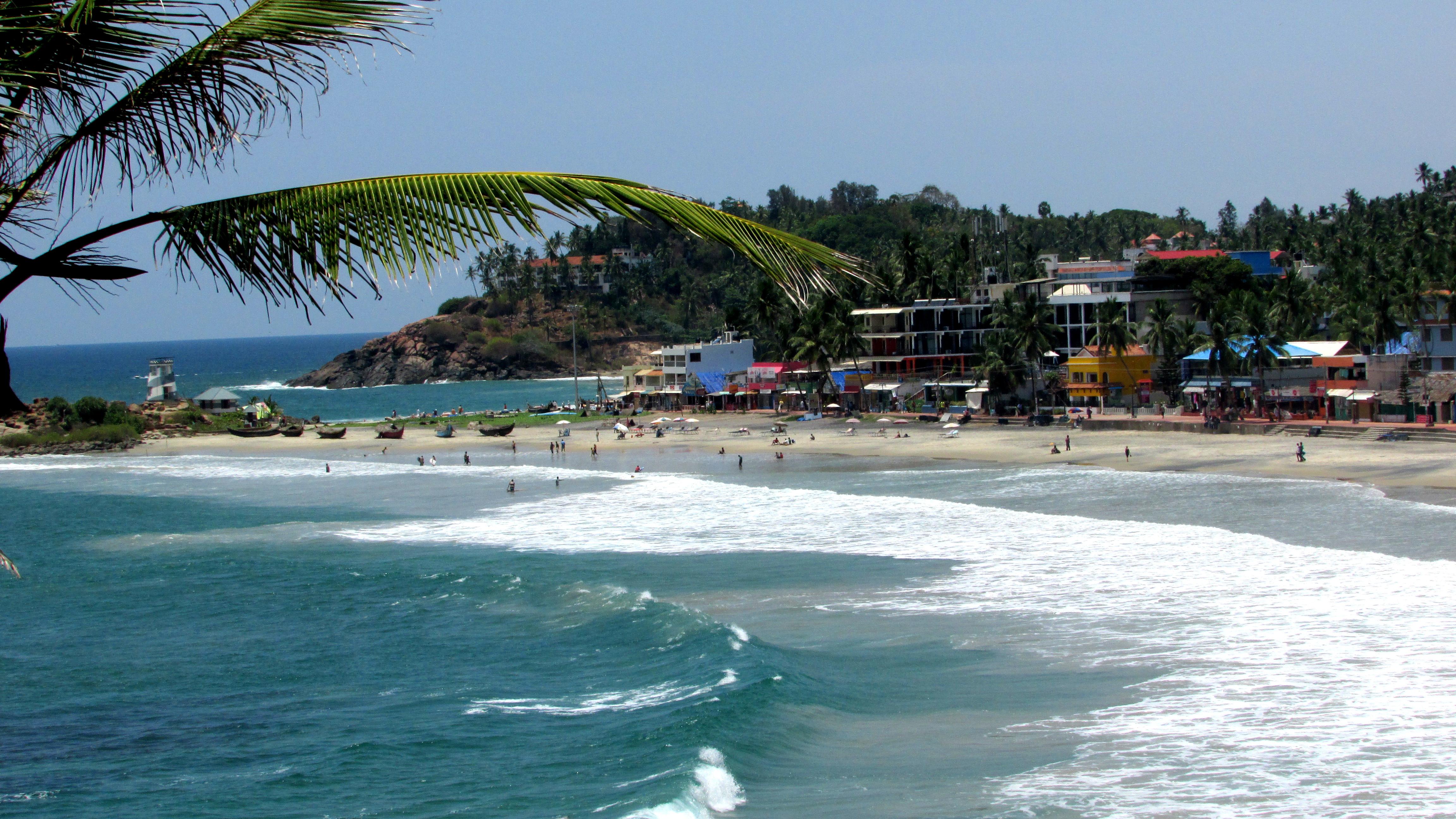 Kovalam beach in kerala  (2)