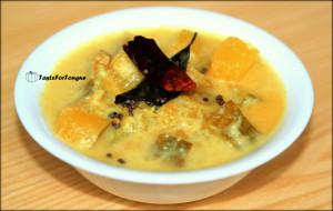 Pumpkin PulisseryPumpkin Curry with Yogurt