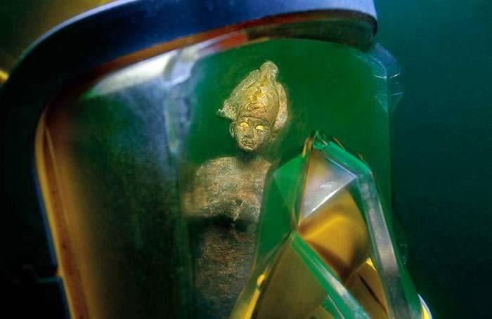 Bronze Statue of Osiris