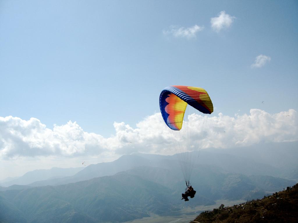 Paragliding in Ladakh