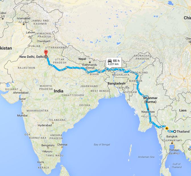 Myanmar Maps
